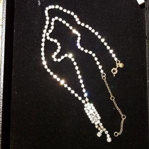 J.Crew diamond necklace